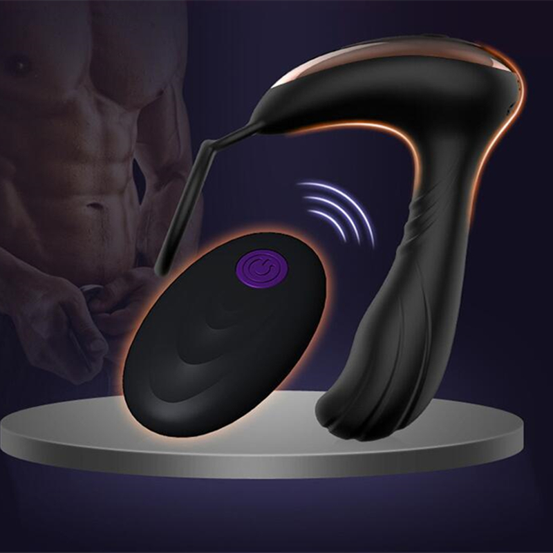 7 Vibrating Modes Male Prostate Massager Vibrator Sex Toys for Men